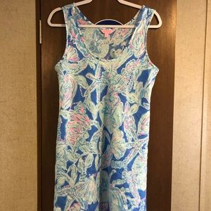 Lilly pulitzer Patterson dress into the deep